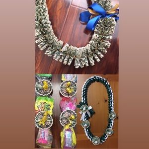 Other - Graduation Ribbon/Money/Candy Lei *made to order